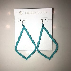 Kendra Scott Sophia aqua earrings